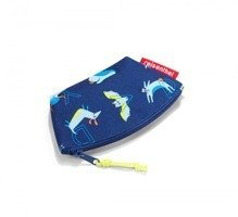 Portmonetka coin purse kids abc friends blue